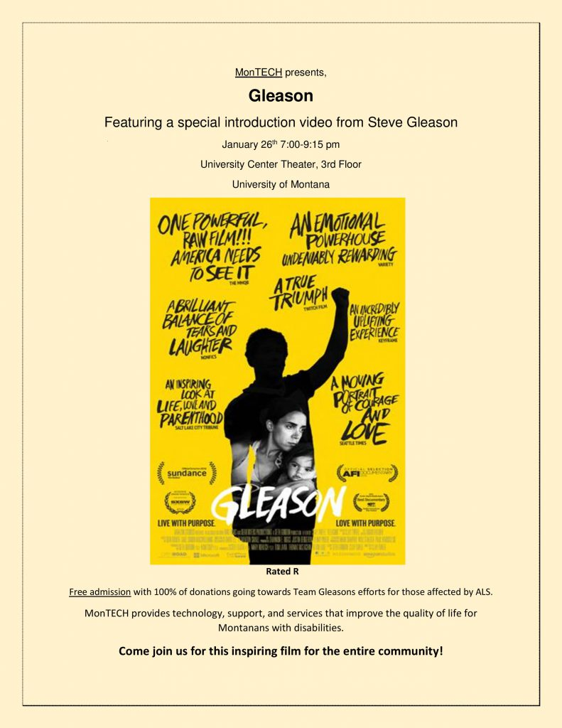 Poster for the film Gleason