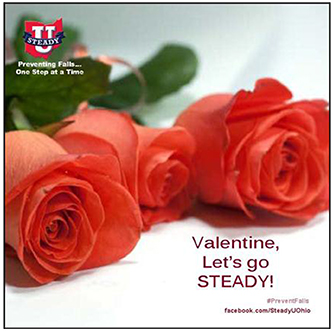 Valentine Let's Go STEADY