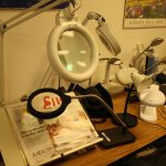 Magnifiers in Billings VR and Blind Services lab