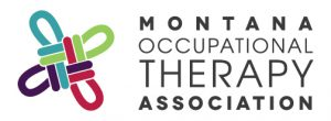 Logo for the Montana Occupational Therapy Association.