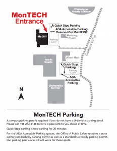 Map to MonTECH
