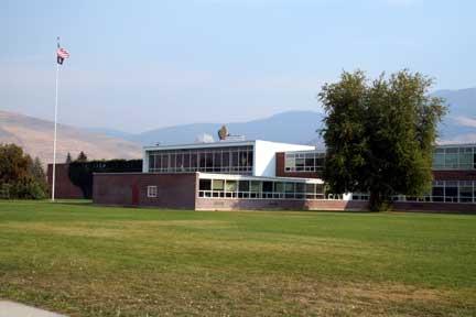 Sentinel High School in Missoula