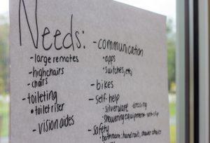 needs checklist