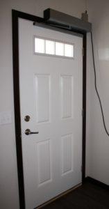 Darren Larson's front door