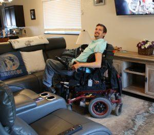 Darren Larson's living room